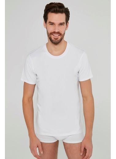 Penti Optik Beyaz Basic Regular 2Li Tişört Beyaz